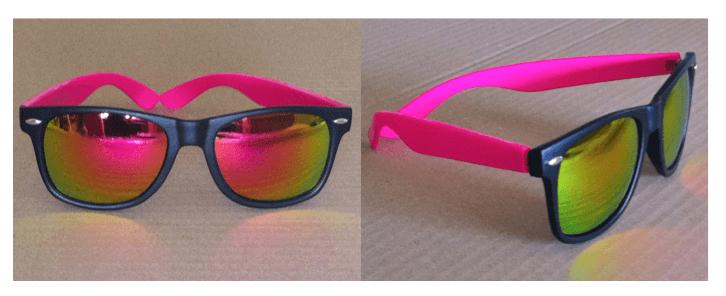 Wayfarer-Party-Matzwart-Roze-zonnebril-kopen-bij-Brillenkopen.nl-uv-protectie